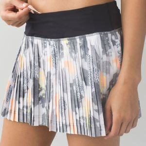 RARE Lululemon Pleat to Street Skirt II Mini Pop 6